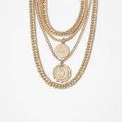 Lovely Trendy Multilayer Gold Necklace